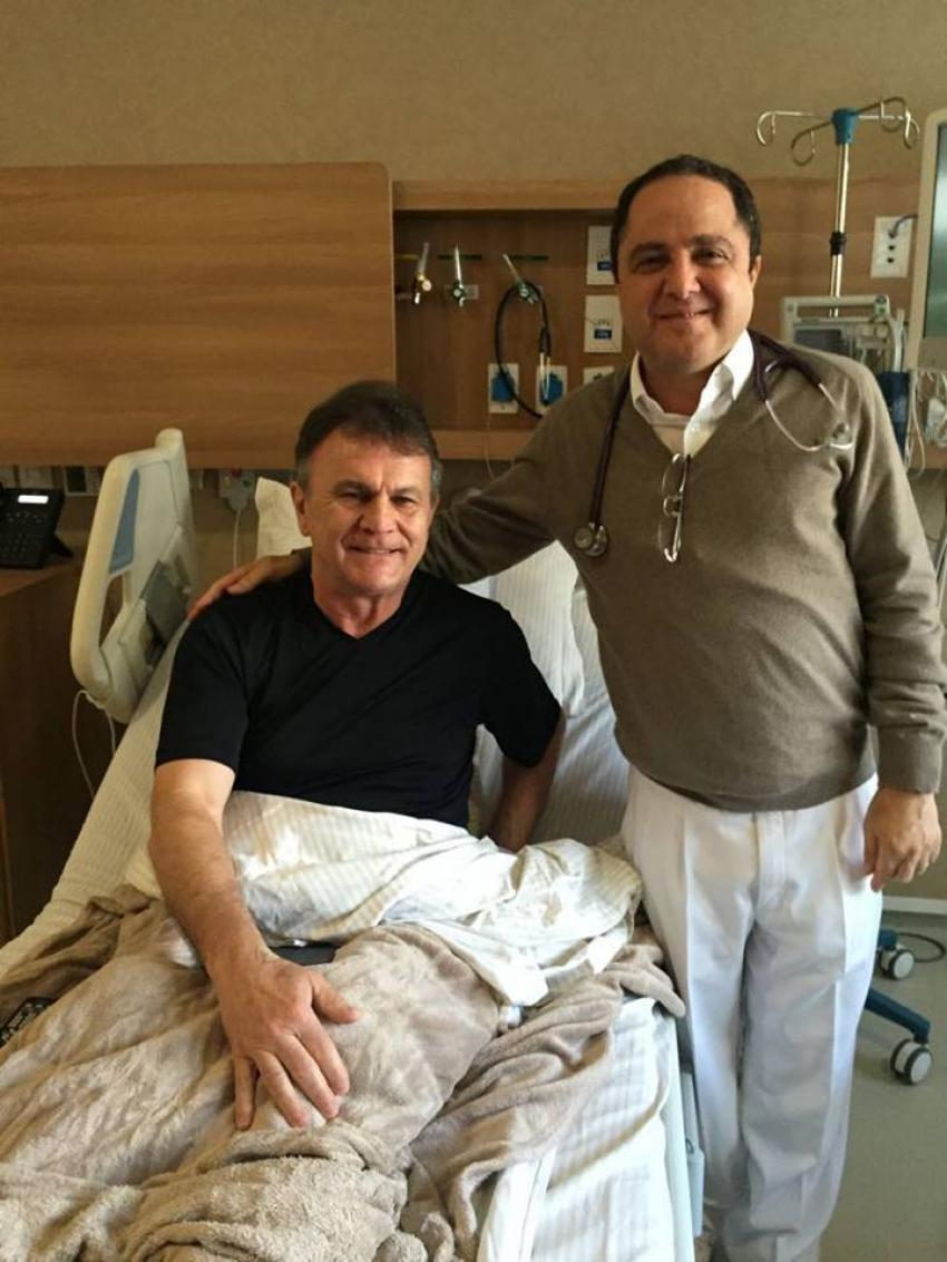 Toninho wandscheer est internado no hospital s rio - Hospital sirio libanes sao paulo ...