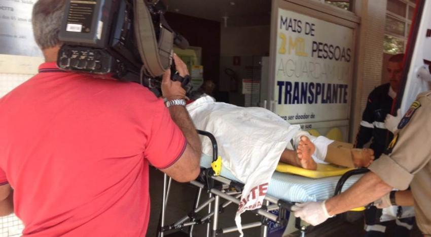 Adolescente fica em estado grave após acidente em Londrina