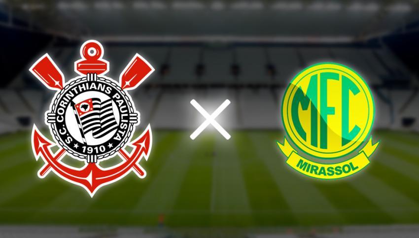Corinthians x Mirassol: horário, local, escalações e transmissão