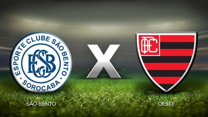 8481b653311fd Ao Vivo - Assistir o Jogo de Oeste x São Bento pelo Campeonato Paulista