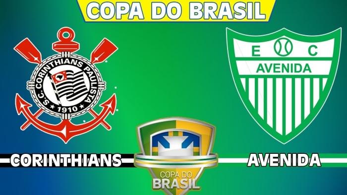7e3416da33 AO VIVO - Assistir o jogo de Corinthians x Avenida Online pela Copa do  Brasil