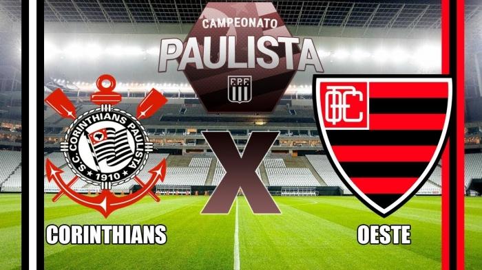 6ab4c7a56c2e5 Assistir o Jogo de Corinthians x Oeste Ao Vivo e Online - Campeonato  Paulista